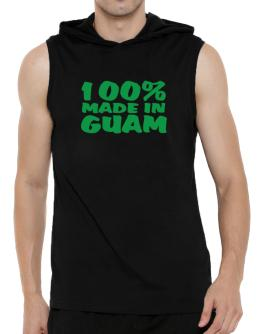 100% Made In Guam Hooded Sleeveless T-Shirt - Mens