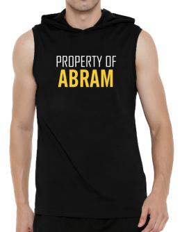 Property Of Abram Hooded Sleeveless T-Shirt - Mens