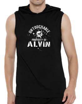 Untouchable : Property Of Alvin Hooded Sleeveless T-Shirt - Mens