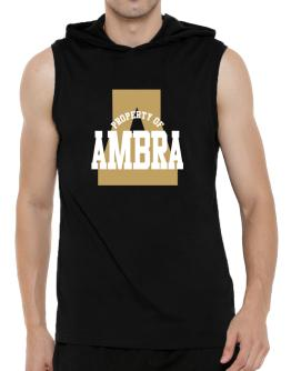 Property Of Ambra Hooded Sleeveless T-Shirt - Mens
