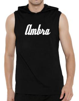 Ambra Hooded Sleeveless T-Shirt - Mens