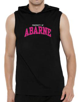 Property Of Abarne Hooded Sleeveless T-Shirt - Mens