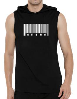 Ambra - Barcode Hooded Sleeveless T-Shirt - Mens