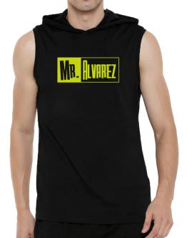Mr. Alvarez Hooded Sleeveless T-Shirt - Mens
