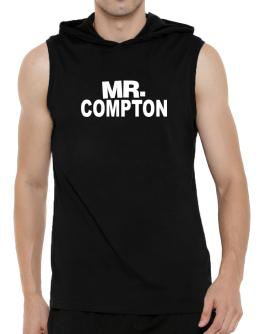 Mr. Compton Hooded Sleeveless T-Shirt - Mens