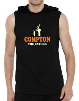 Compton The Father Hooded Sleeveless T-Shirt - Mens