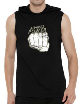 Alvarez Power Hooded Sleeveless T-Shirt - Mens