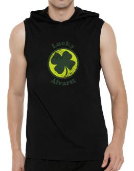 Lucky Alvarez Hooded Sleeveless T-Shirt - Mens