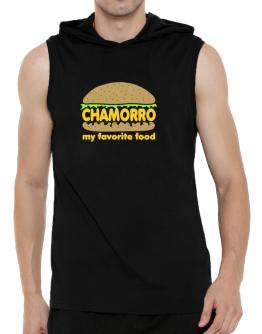 Chamorro My Favorite Food Hooded Sleeveless T-Shirt - Mens
