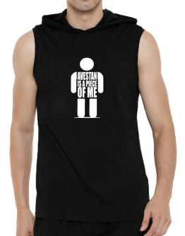 Avestan Is A Piece Of Me Hooded Sleeveless T-Shirt - Mens