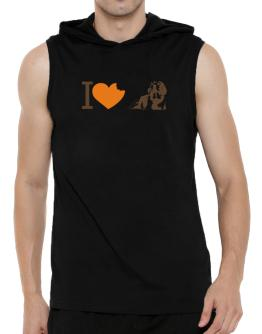 I love Beagles Hooded Sleeveless T-Shirt - Mens