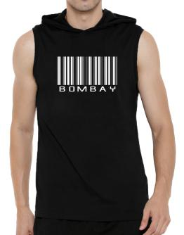 Bombay Barcode Hooded Sleeveless T-Shirt - Mens
