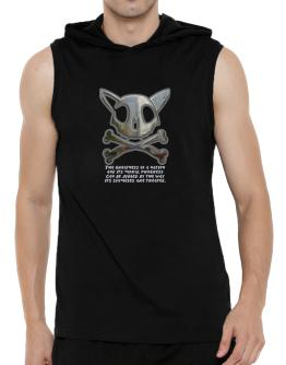 The Greatnes Of A Nation - Siamese Hooded Sleeveless T-Shirt - Mens