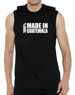 100% Made In Guatemala Hooded Sleeveless T-Shirt - Mens