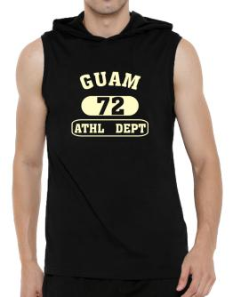 Guam 72 Athl Dept Hooded Sleeveless T-Shirt - Mens