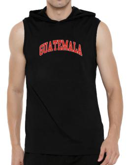 Guatemala - Simple Hooded Sleeveless T-Shirt - Mens