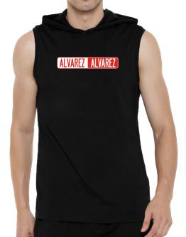 Negative Alvarez Hooded Sleeveless T-Shirt - Mens