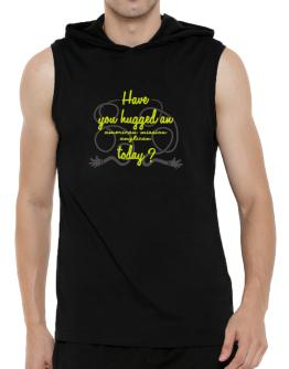 Have You Hugged An American Mission Anglican Today? Hooded Sleeveless T-Shirt - Mens