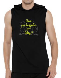 Have You Hugged A Jew Today? Hooded Sleeveless T-Shirt - Mens