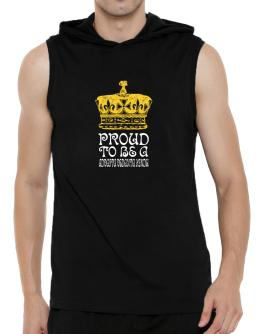 Proud To Be An Advaita Vedanta Hindu Hooded Sleeveless T-Shirt - Mens