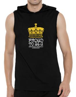Proud To Be An American Mission Anglican Hooded Sleeveless T-Shirt - Mens