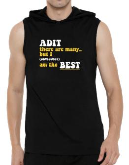 Adit There Are Many... But I (obviously) Am The Best Hooded Sleeveless T-Shirt - Mens