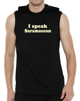 I Speak Saramaccan Hooded Sleeveless T-Shirt - Mens