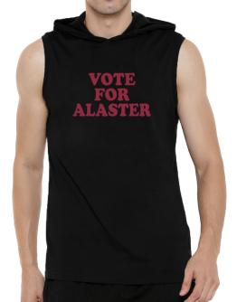 Vote For Alaster Hooded Sleeveless T-Shirt - Mens