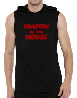 Compton In The House Hooded Sleeveless T-Shirt - Mens