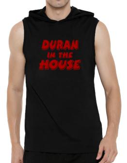 Duran In The House Hooded Sleeveless T-Shirt - Mens