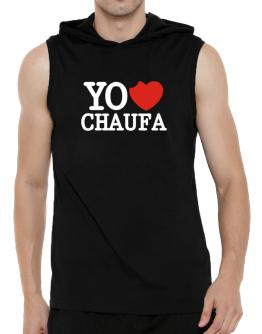 yo amor Ceviche Hooded Sleeveless T-Shirt - Mens