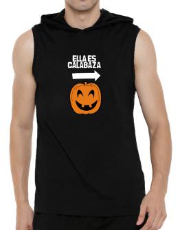 ella es calabaza Hooded Sleeveless T-Shirt - Mens