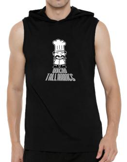 Quiero Ceviche Hooded Sleeveless T-Shirt - Mens
