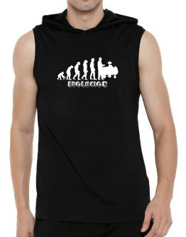 EVOLUCION Hooded Sleeveless T-Shirt - Mens