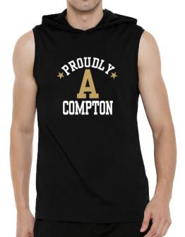 Proudly Compton Hooded Sleeveless T-Shirt - Mens