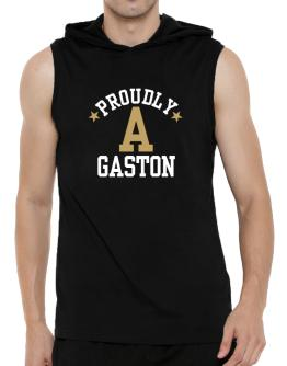 Proudly Gaston Hooded Sleeveless T-Shirt - Mens
