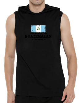 Property of Guatemalan Nation Hooded Sleeveless T-Shirt - Mens