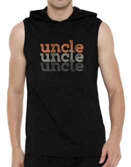 Auncle repeat retro Hooded Sleeveless T-Shirt - Mens