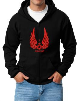 Absolom - Wings Zip Hoodie - Mens