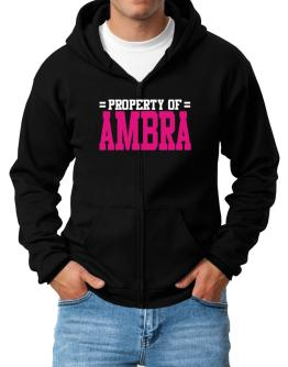 Property Of Ambra Zip Hoodie - Mens