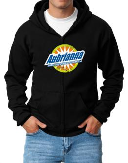 Aubrianna - With Improved Formula Zip Hoodie - Mens