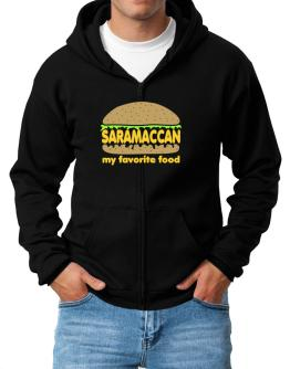 Saramaccan My Favorite Food Zip Hoodie - Mens