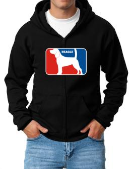 Beagle Sports Logo Zip Hoodie - Mens