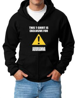 This T-shirt Is Exclusive For Aubrianna Zip Hoodie - Mens