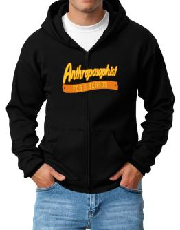 Anthroposophist For A Reason Zip Hoodie - Mens