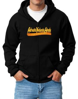 Advaita Vedanta Hindu For A Reason Zip Hoodie - Mens