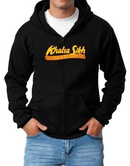 Khalsa Sikh For A Reason Zip Hoodie - Mens