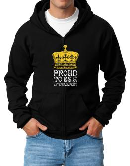 Proud To Be An Anthroposophist Zip Hoodie - Mens