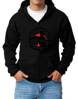 Khalsa Sikh By Day, Ninja By Night Zip Hoodie - Mens