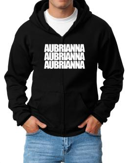 Three words Aubrianna Zip Hoodie - Mens